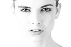 model-face